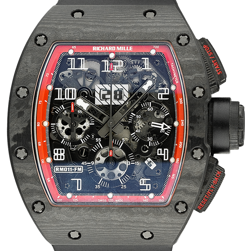 Richard Mille RM011 Felipe Massa Black Night NTPT Carbon