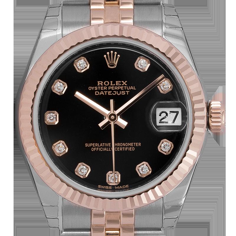Rolex DateJust bi-metal Steel & Everose Gold 178271