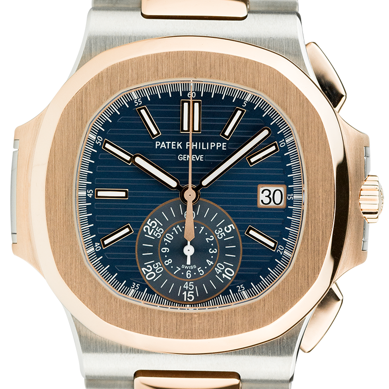 Patek Philippe Nautilus Stainless Steel & Rose Gold 5980/1AR-001