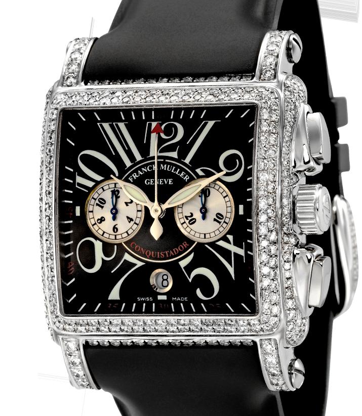 Franck Muller Cortez Conquistador Diamond Set 10000 H CC