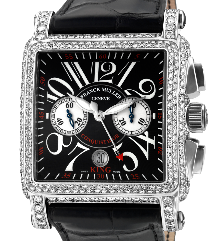 Franck Muller Cortez Conquistador Diamond Set 10000 H CC King
