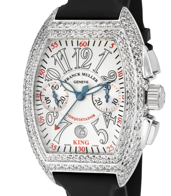 Franck Muller Conquistador King Diamond Set 8005 K SC