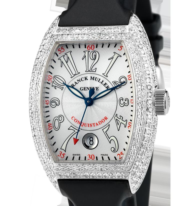Franck Muller Conquistador Diamond Set 8005 SC