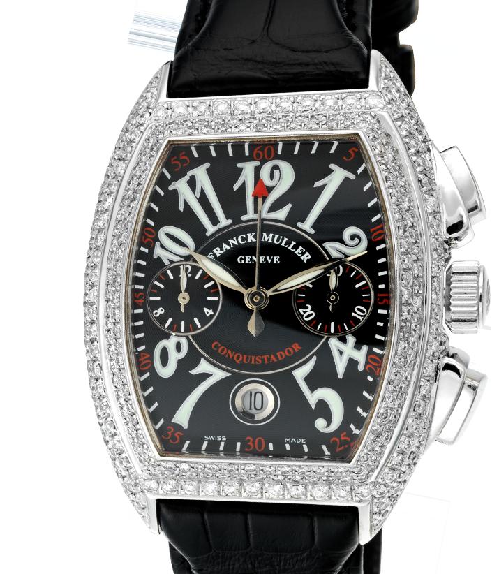 Franck Muller Conquistador Diamond Set 8005 CC
