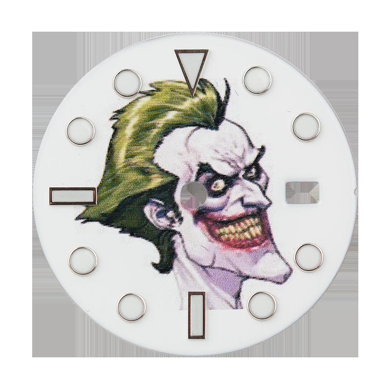 Rolex Submariner/GMT-Master II Joker Print Custom Dial White Index
