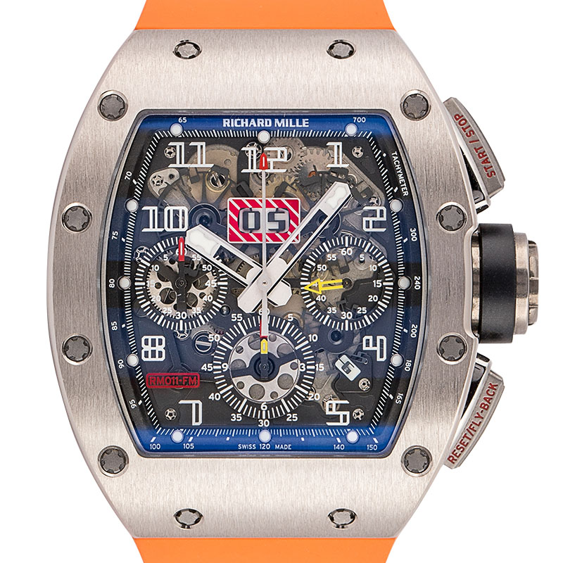 Richard Mille RM 11 Felipe Massa White Gold