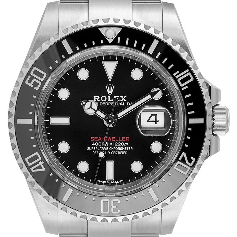 Rolex Sea-Dweller Stainless Steel Black Dial 126600