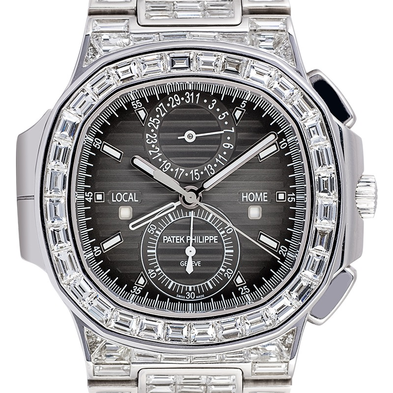 Patek Philippe Nautilus 5990 Custom Diamond Set