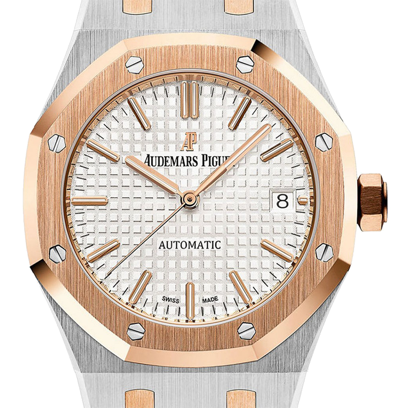 Audemars Piguet Royal Oak 37mm Steel/Rose Gold 15450SR.OO.1256SR.01