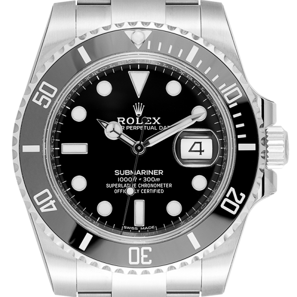 Rolex Submariner Date Stainless Steel with Black Dial 116610LN