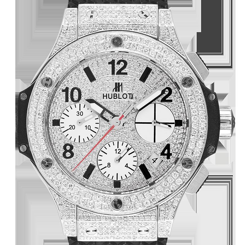 Hublot Big Bang 41mm Custom Diamond Set 342.SB.131.RX