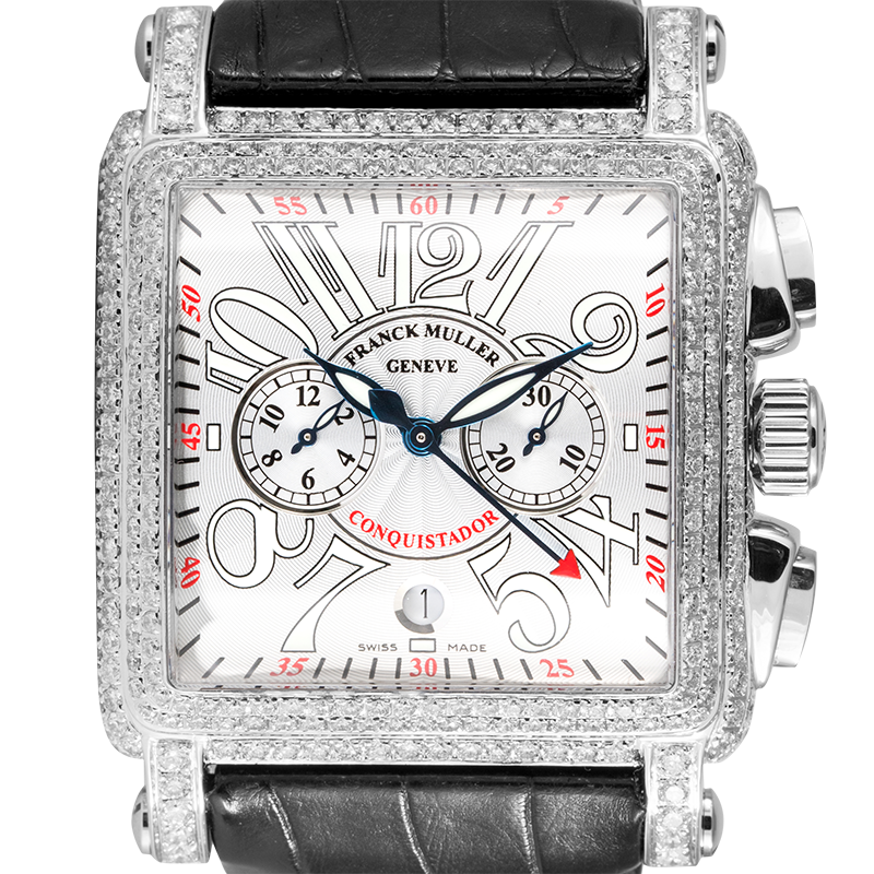 Franck Muller Cortez 10000 H CC Conquistador Diamond Set
