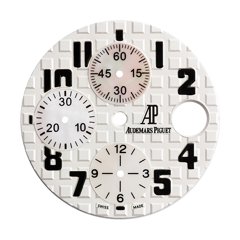 Audemars Piguet Royal Oak Offshore 42mm White/Mother of Pearl Custom Dial