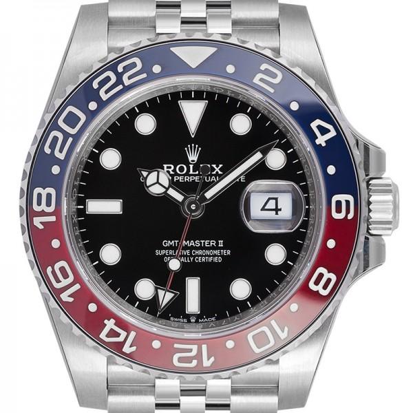 """Rolex GMT-Master II """"Pepsi"""" Jubilee Bracelet 126710BLRO"""