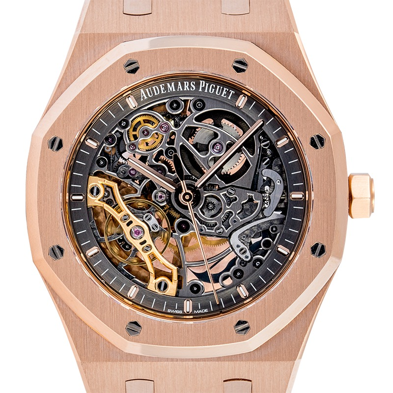 Audemars Piguet Royal Oak Double Balance Wheel Openworked Rose Gold 15407OR.OO.1220OR.01