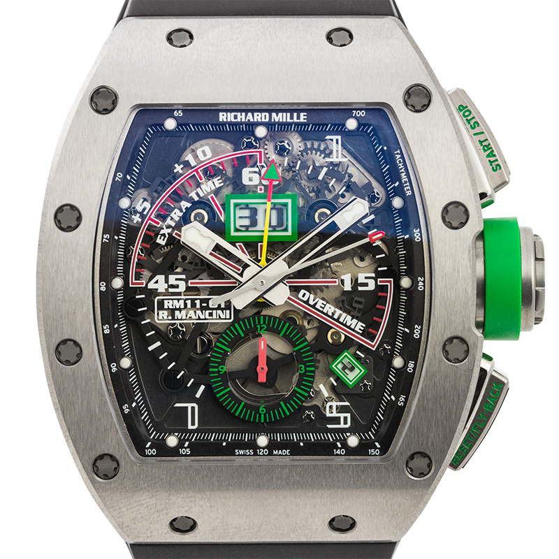Richard Mille RM 011-01 Automatic Flyback Chronograph Roberto Mancini