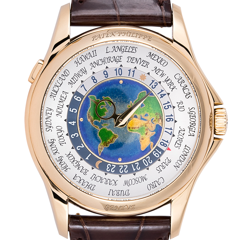Patek Philippe Complications World Time Yellow Gold 5131J-001
