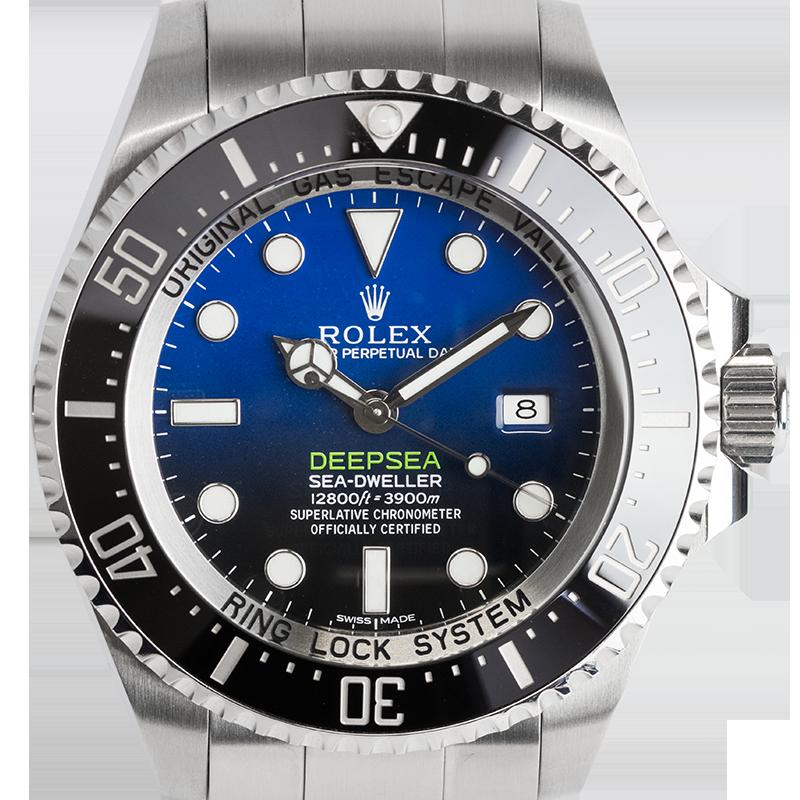 Rolex Deepsea Stainless Steel D-Blue Dial Watch 116660