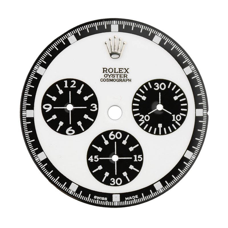 Rolex Daytona White/Black Custom Designed Dial 40mm