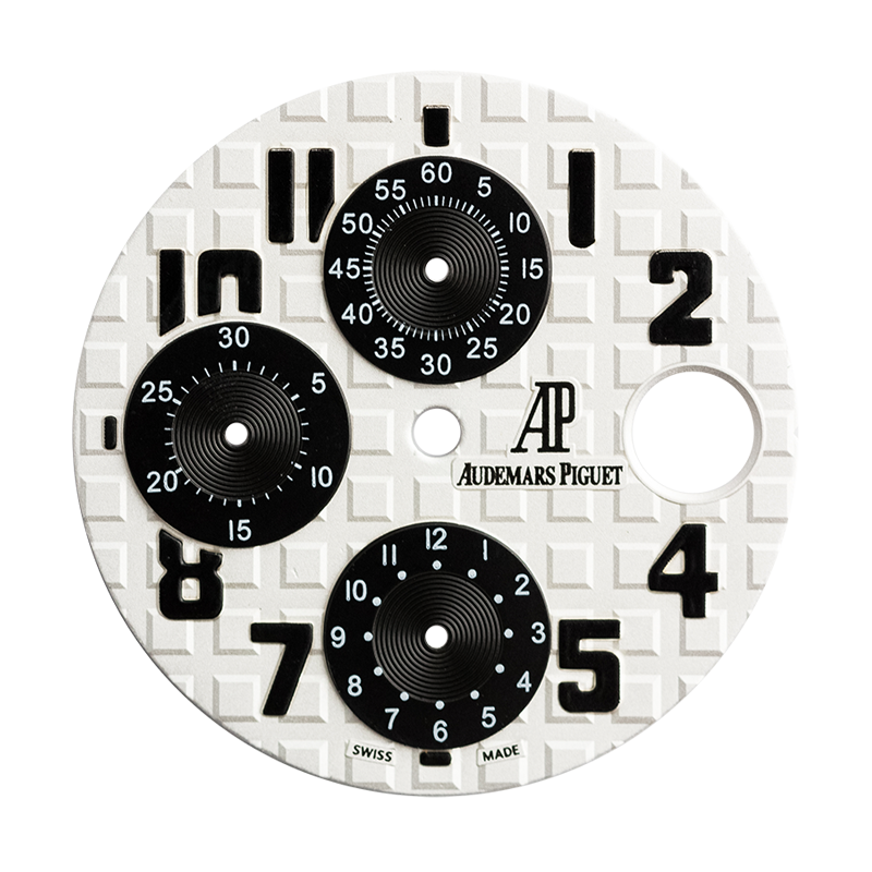Audemars Piguet Royal Oak Offshore 42mm White/Black Custom Dial