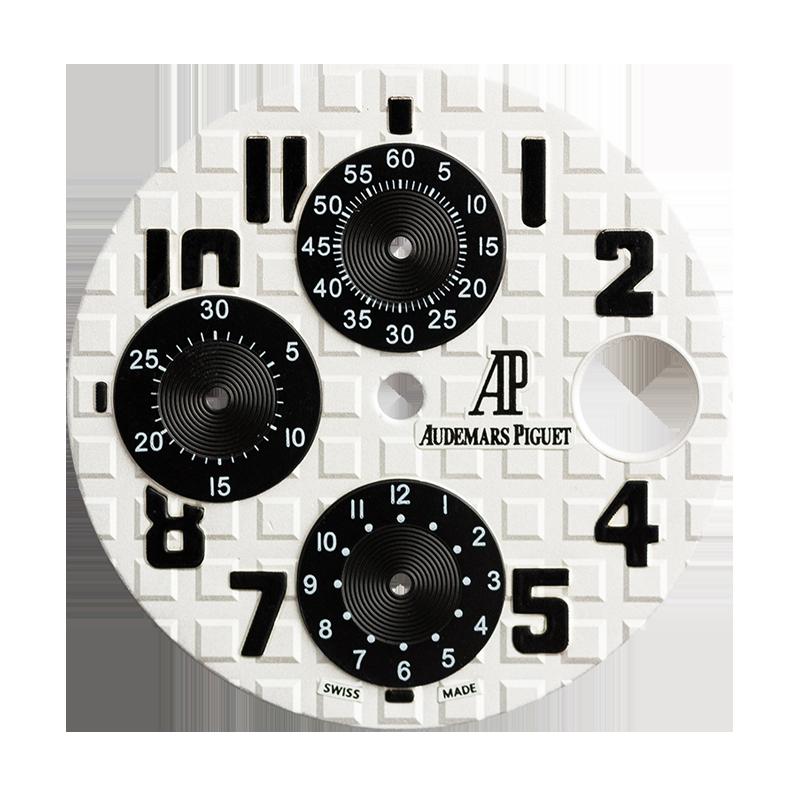 Audemars Piguet Royal Oak Offshore 42mm White/Black Custom Dial