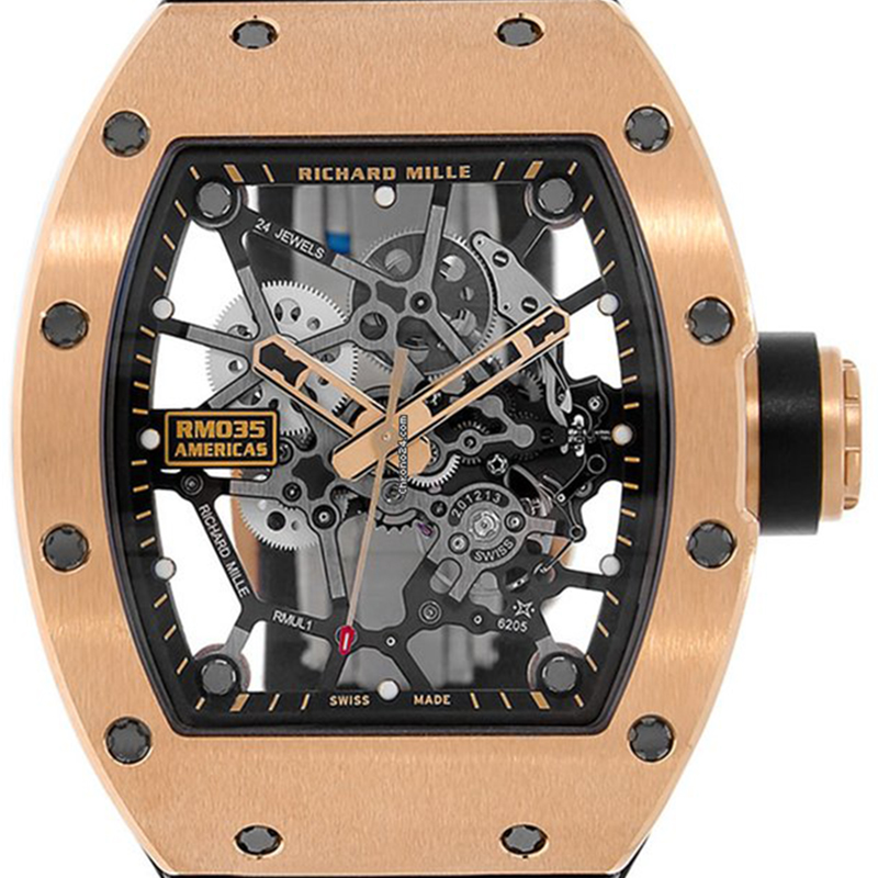 Richard Mille Rafel Nadal Gold Toro 18ct Pink Gold 48 x 39.7 mm RM-035-02 Watch