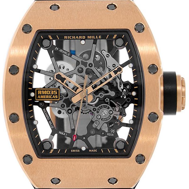 Richard Mille Rafel Nadal Gold Toro 18ct Pink Gold 48 x 39.7 mm RM-035-02 Watch