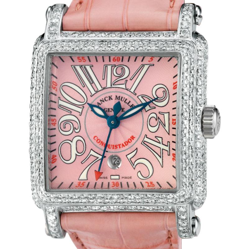 Franck Muller Cortez Conquistador Pink Diamond Set 10000 H CC