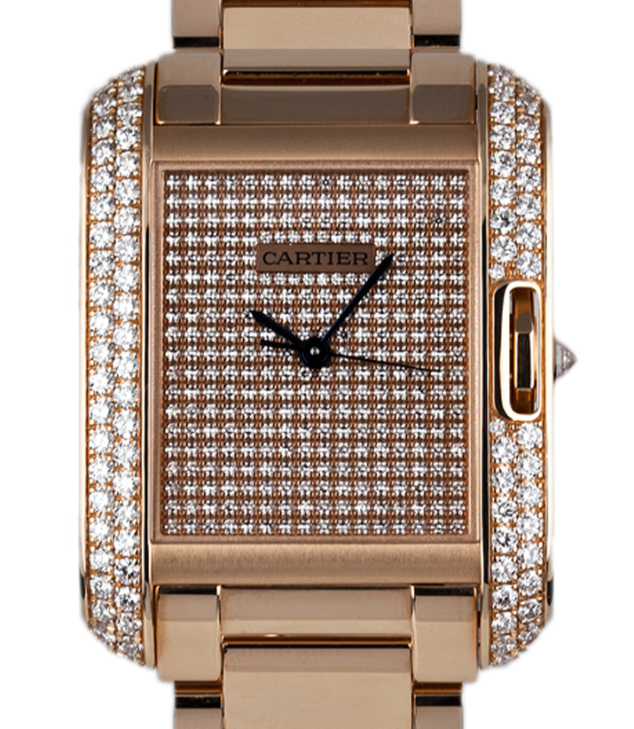 Cartier Tank Angalise Rose Gold W5310041