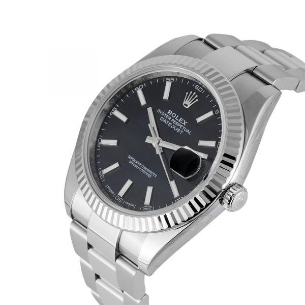 Rolex Datejust 41 Steel Black Dial 116334