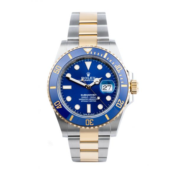Rolex Submariner Date 41mm Steel and Gold Blue Dial 126613LB