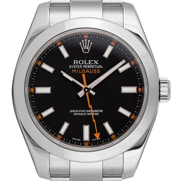 Rolex Milgauss Stainless Steel Black Dial 116400