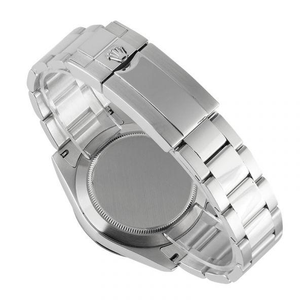 Rolex Daytona in Steel with Custom Ice Blue/Diamonds Dial and Custom Bezel 116520