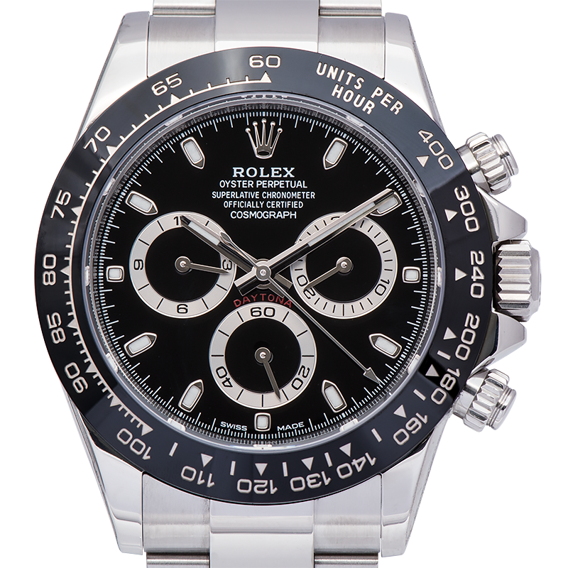 Rolex Cosmograph Daytona Steel Ceramic Bezel Black Dial 116500LN