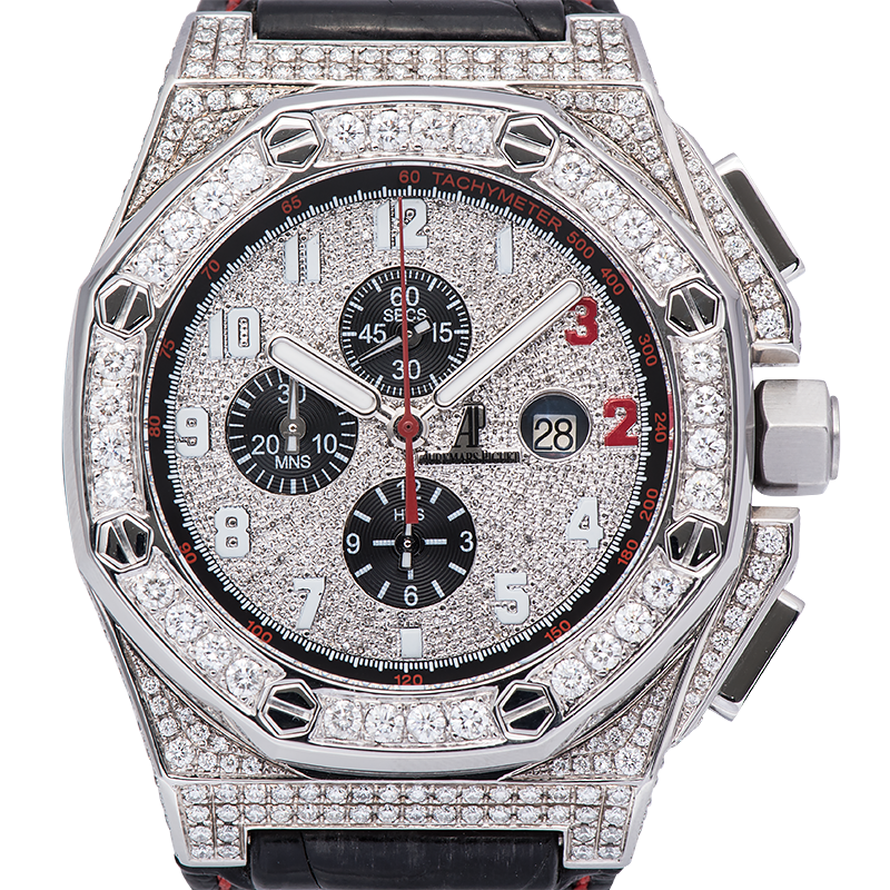 Audemars Piguet Royal Oak Offshore 48mm Shaquille O'Neal Diamond Set 26133ST.OO.A101CR.01