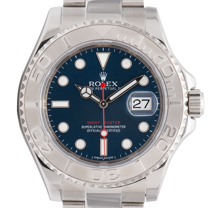 Rolex Yacht-Master 40mm Stainless Steel Blue Dial Oyster 116622