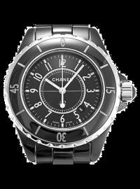 Chanel J12 33mm Black H0682