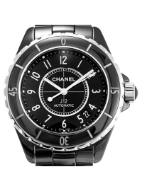 Chanel J12 38mm Black H0685