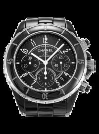 Chanel J12 Chronograph 41mm Black H0940