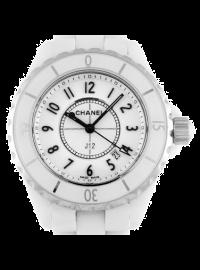 Chanel J12 33mm White H0968