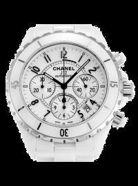 Chanel J12 Chronograph 41mm White H1007