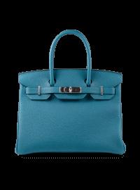Hermes Birkin Cobalt Blue Togo Leather