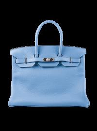 Hermes Mykonos Clemence Leather Bag