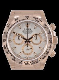Rolex Cosmograph Daytona Everose Ivory/Index 116505