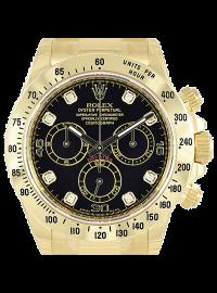 Rolex Cosmograph Daytona Black/8 Diamond 116528