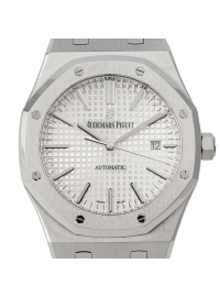 Audemars Piguet Royal Oak Stainless Steel White Dial 15400ST.OO.1220ST.02
