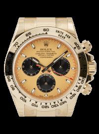 Rolex Cosmograph Daytona Full Yellow Gold Champagne/Black Index 116508