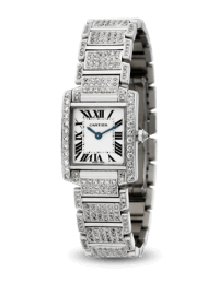 Cartier Tank Francaise Custom Diamond Set Watch W51008Q3