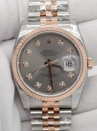 Rolex Datejust 36 watch in Everose Rolesor - combination of 904L steel and 18 ct Everose gold 116231
