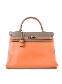 Hermes Birkin Multicolor Bag